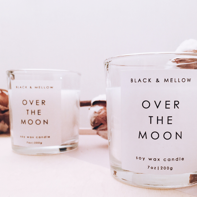 Beautiful scented candles